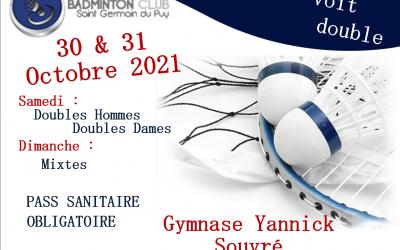 Tournoi St Germ Voit Double 2021